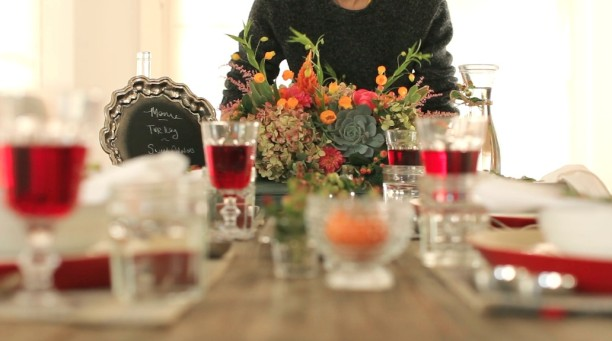 the california harvest thanksgiving centerpiece