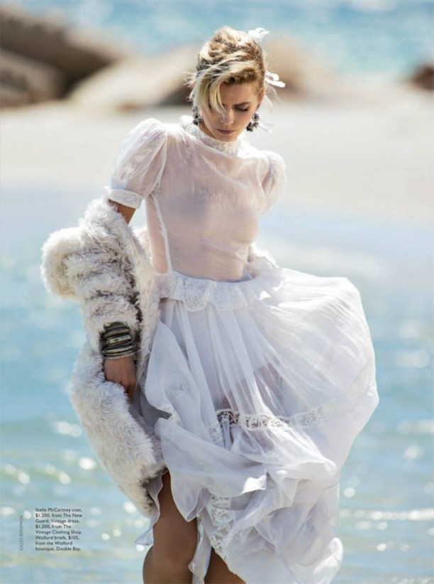 Abbey Lee Kershaw Vogue Australia April 2014
