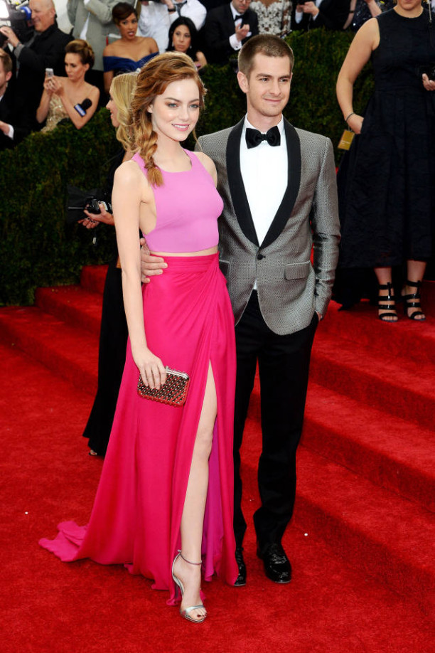 Emma Stone & Andrew Garfield in Thakoon at The Met Gala 2014
