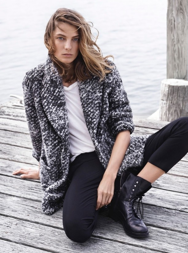 Daria Werbowy for Mango Fall 2014