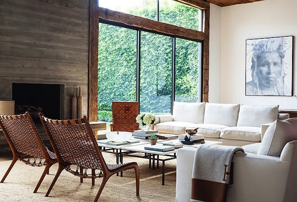 A Look Inside Jenni Kayne's Rustic & Modern California Home