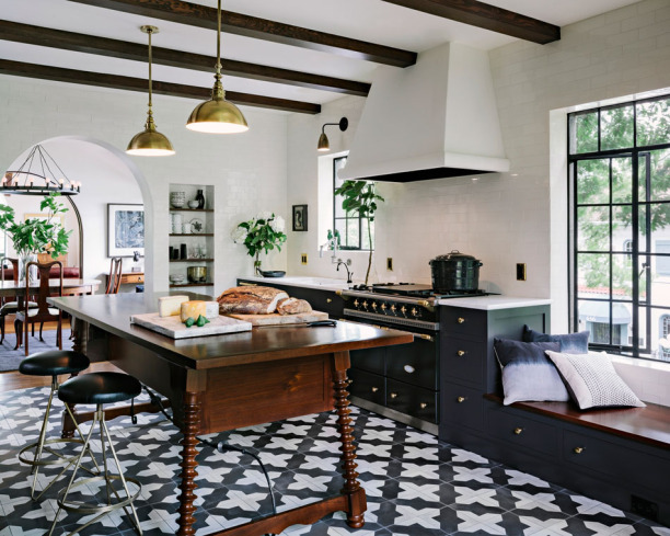 Bold Tile Floors