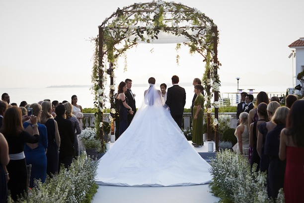 Nell Diamond and Teddy Wasserman's Dream Wedding at the Hôtel du Cap-Eden-Roc