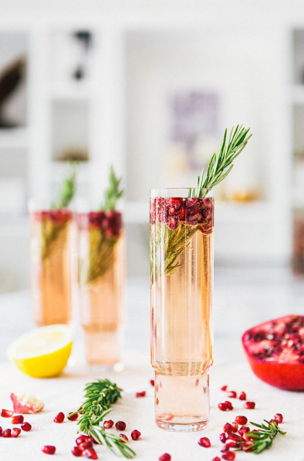 omegranate Rosemary Spritzer