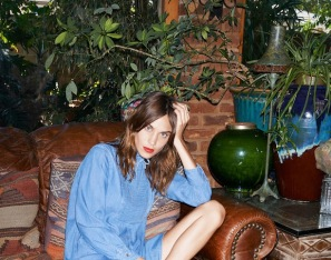 Alexa Chung Unveils A Vintage-Inspired Denim Collaboration With AG