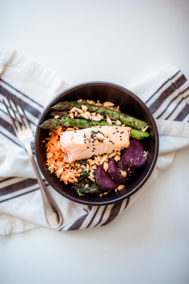 Salmon Rice Bowl recipe